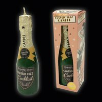 Click to view product details and reviews for Classic Champagne Bottle Fizz Candle.
