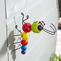 Click to view product details and reviews for Crazy Caterpillar Garden Decoration Hangers On.
