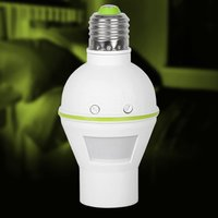 PIR Sensor Bulb Holder E27