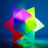 Click to view product details and reviews for Spiky Prism Bouncy Ball.