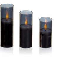 Click to view product details and reviews for Flickabrights Glass Cup Candle Set.