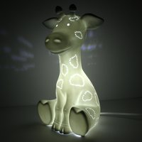 Click to view product details and reviews for Giraffe Ceramic Lamp.