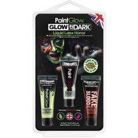 'Glow In The Dark Liquid Latex Kit