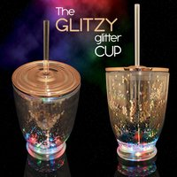 Click to view product details and reviews for Glitzy Glitter Party Cup.
