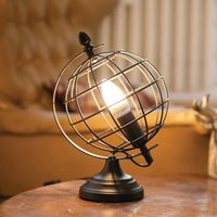 Click to view product details and reviews for Globe Cage Table Lamp.