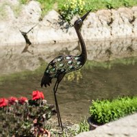 Click to view product details and reviews for Glow Garden Heron.