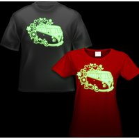 Click to view product details and reviews for Glow Campervan T Shirt.
