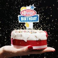 Click to view product details and reviews for Happy Birthday Flashing Cake Topper.