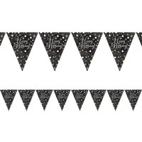 Click to view product details and reviews for Happy Birthday Prismatic Bunting.