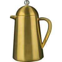 Click to view product details and reviews for Brushed Gold 8 Cup La Cafetiere.