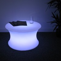 Light Up Mood Curved Table