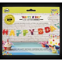 Click to view product details and reviews for Led Happy Birthday Banner.