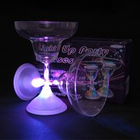 Click to view product details and reviews for Light Up Margarita Glasses 2 Pack.