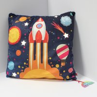 Click to view product details and reviews for Rocket Light Up Cushion.