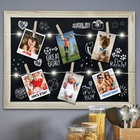 Click to view product details and reviews for Light Up Photo Clip Chalk Board.