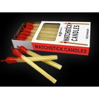 Click to view product details and reviews for Matchstick Candles 12 Pack.