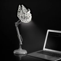 Click to view product details and reviews for Millennium Falcon Poseable Table Lamp.