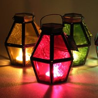 Click to view product details and reviews for Mini Recycled Iron And Glass Lantern Lt170.