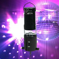 Click to view product details and reviews for Disco Glitter Ball Mirror Ball Motor Battery Power 153106.