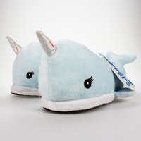 Click to view product details and reviews for Childrens Narwhal Slippers Size 11 4.
