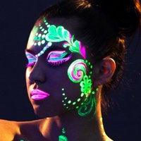 Click to view product details and reviews for Paintglow Neon Uv Face And Body Paint Kit Gs05.