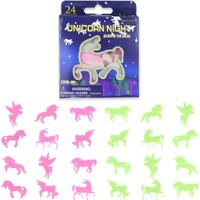 Click to view product details and reviews for 24 Piece Glow In The Dark Unicorn Shapes 12 Pack.