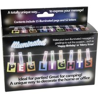Click to view product details and reviews for Peg String Light Multi Coloured.