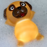 Click to view product details and reviews for Pug Light Up Bath Plug.