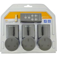 Click to view product details and reviews for Remote Controlled Mains Socket Adaptor 3 Pack.