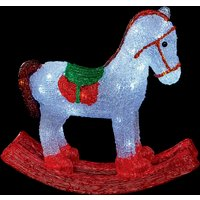 Click to view product details and reviews for 45cm Acrylic Led Rocking Horse.
