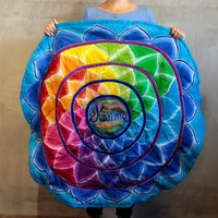 Click to view product details and reviews for Round Karma Mandala Meditation Mat.