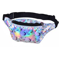 Click to view product details and reviews for Silver Unicorn Holographic Bum Bag.
