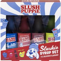 Click to view product details and reviews for Slush Puppie Syrup Selection 4pk 180ml.