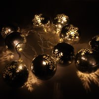Click to view product details and reviews for Snowflake Bauble Lights.