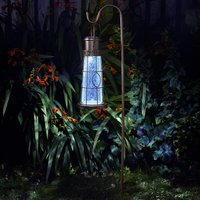Click to view product details and reviews for Solar Lighthouse Lantern Stake Light.