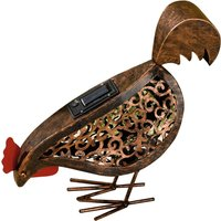Click to view product details and reviews for Solar Metal Scroll Hens.