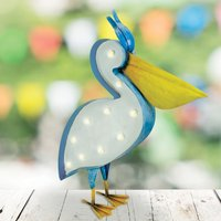 Click to view product details and reviews for Solar Pelican Decoration.