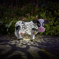 Click to view product details and reviews for Solar Silhouette Daisy Cow.