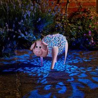 Click to view product details and reviews for Solar Silhouette Delilah Pig.