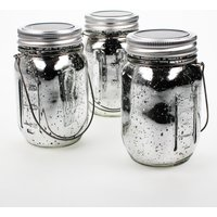 Click to view product details and reviews for Solar Mercury Glass Jar Lights 3 Pack.