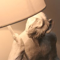Standing Monkey Table Lamp