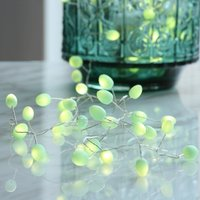 Click to view product details and reviews for Battery Operated Teardrops Mint Light Chain.