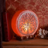 Click to view product details and reviews for Wooden Tree Salt Lamp.