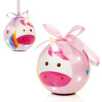 Click to view product details and reviews for Light Up Unicorn Bauble.