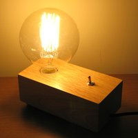 Vintage Flick Switch Lamp  ABC2601