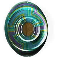 Click to view product details and reviews for Mandala Swirl Wind Spinner.
