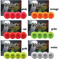 Volvik Vivid Golfball 3er Pack