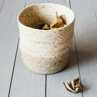 Seagrass Paper Bin