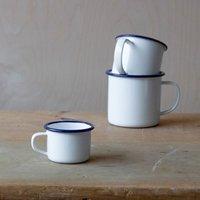 Enamelware Espresso Mug