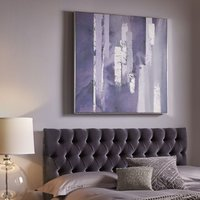 Graham & Brown Purple Harmony Framed Canvas Wall Art
